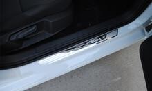 Door Sill scuff plate  For VW Volkswagen Golf 7 MK7 2012-2017
