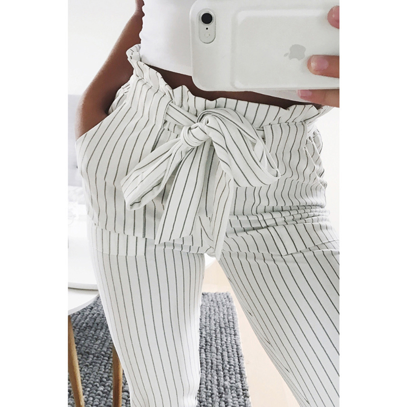 Casual Striped Pants 12
