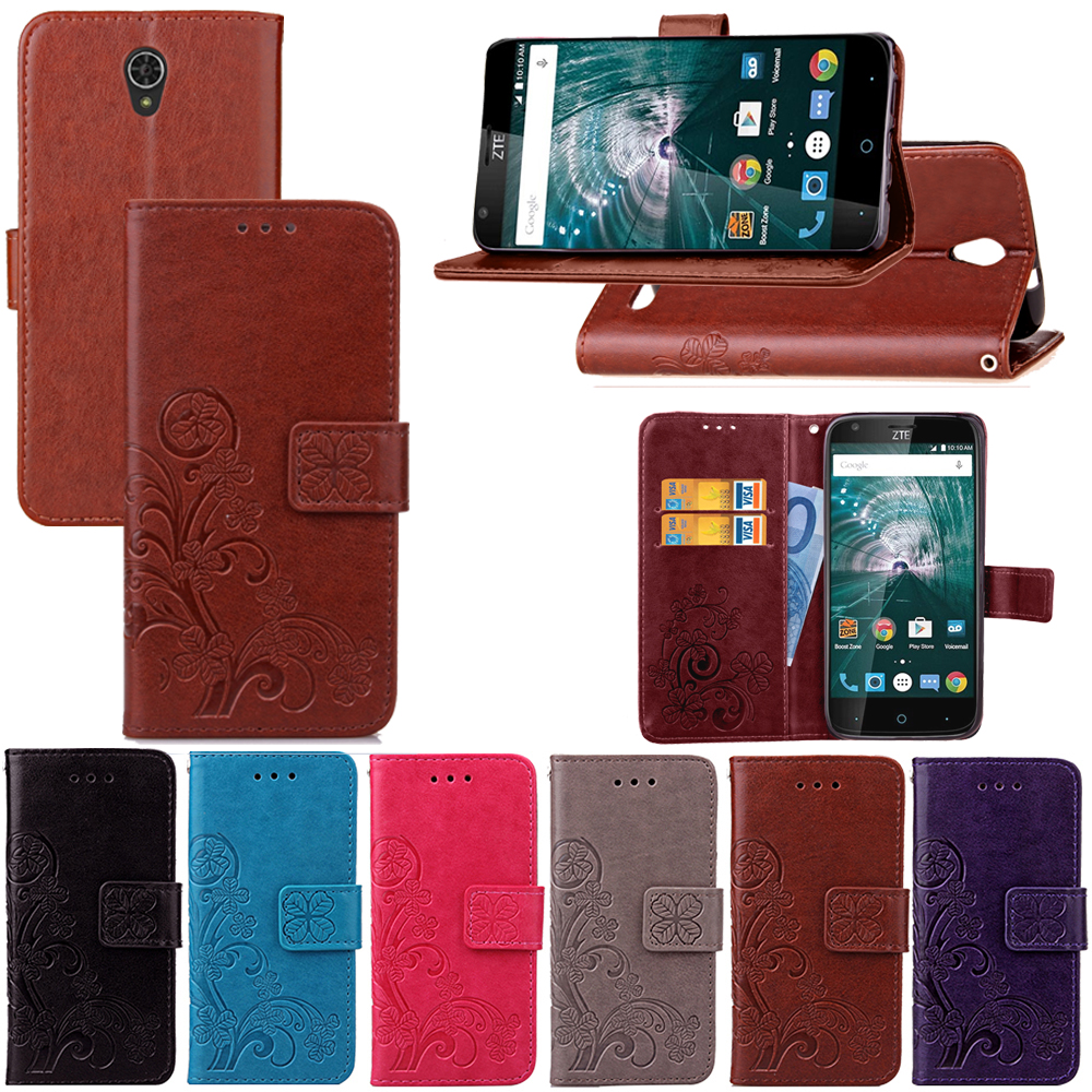 innovative design 25ff9 4418d For ZTE Warp 7 Flip PU Leather Wallet Phone case For ZTE Warp 7 ...
