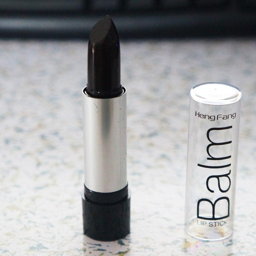 Nova Alta Qualidade Maquiagem À Prova D' Água de Longa Duração Lip Gloss batom Maquiagem Estilo Vampiro preto roxo uva Batom maquiagem