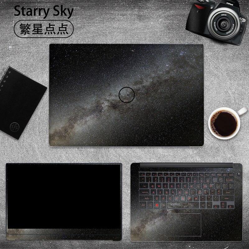 Céu estrelado Adesivo para Laptop Dell G3 G5 G7 Vinil Decalque Da Pele Do Portátil para Dell 3579 7588 5577 15.6