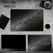 цена на Starry Sky Laptop Sticker for Dell G3 G5 G7 Vinyl Decal Laptop Skin for Dell 3579 7588 5577 15.6