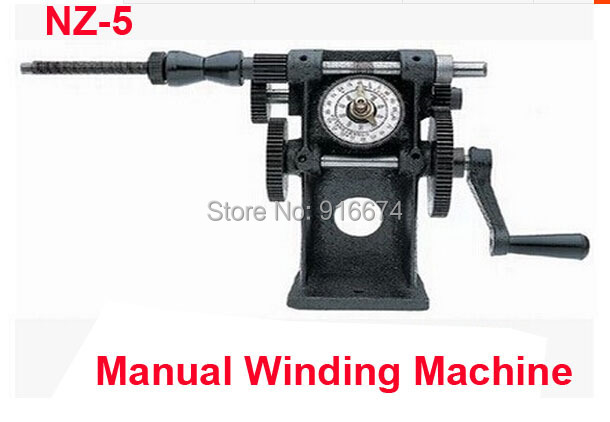 Fast Free shipping SALE NZ-5 Manual Winding Machine dual-purpose Hand Coil counting winding machine Winder цена