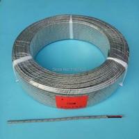 FTARE02 100m K J thermocouple PT100 RTD extension wire compensation wire cable for temperature sensor