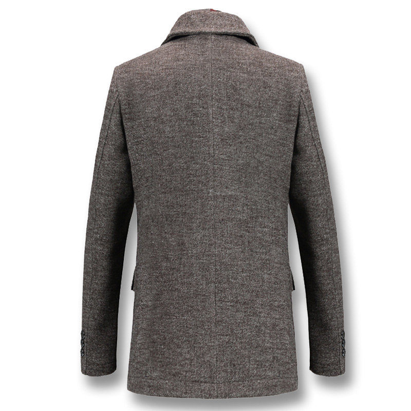 Winter Thick Cotton Wool Coat 3