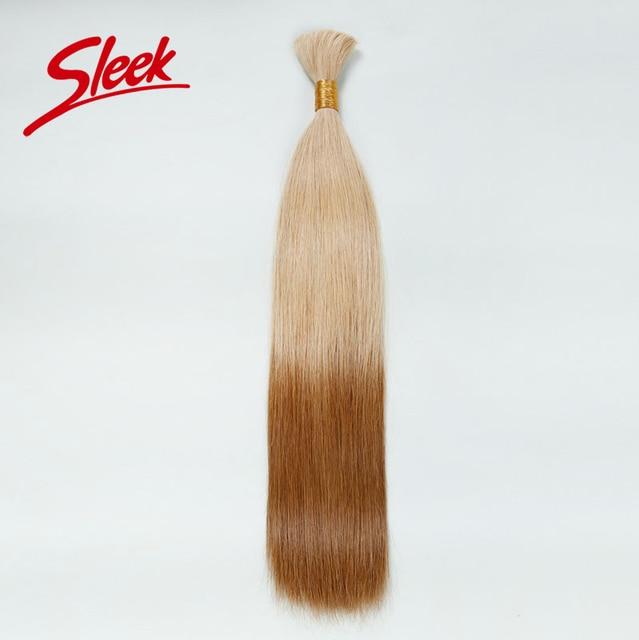 Sleek Colorful Bulk Hair Weaving For White People, Two Tone Ombre Human Hair, Best Brazilian Hair Bundles Aliexpress UK