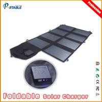 Nueva Llegada PORTABLE 18 V 28 W Cargador Solar Power Bank Panel Ourdoor Camping Cargador para el iphone samsung Portátil solar panel