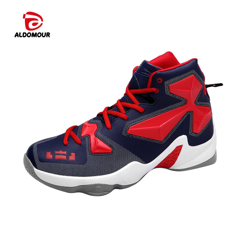 Aliexpress.com   Buy ALDOMOUR Cheap Basketball Shoe High Quality Sneakers  Basketball Boots Back to the Future Shoes For Plus Chaussures De Shoe from  ... 00027ec44b82