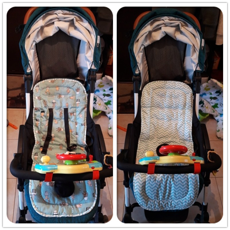 Strollers Accessories Activity & Gear Nice Baby Stroller Pad Seat Cushion Infant Diaper Pad Changing Mat Seat Pad For Baby Prams Stroller Accessories Child Chair Cushion