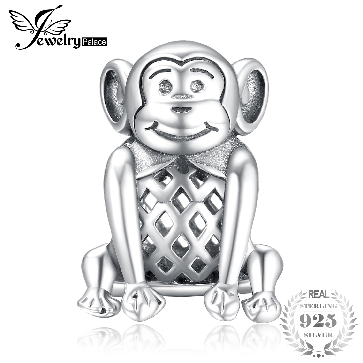 Jewelrypalace Diy Bead Charm For Women Bracelets Magic Monkey Bead 925 Sterling Silver Charm Fit Bracelets Fashion Brands Beads Jewelry & Accessories