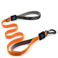 Pet Dog Leash Comfortable Leather Control Leash For Medium Large Dog Pitbull Walking Dog Leash Training Dog Harness