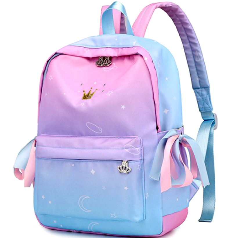 Laptop Backpack School Bags For Teenage Girls Summer Cute Waterproof Nylon Backpack Unicorn Travel Transparent Backbag Bookbag