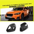 Автомобильный стиль  карбоновое волокно  автомобильные зеркала заднего вида  крышки для Subaru XV Forester Outback 2012 - 2014