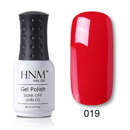 HNM 8ML เพชร Bling เล็บเจล Polish Stamping Glitter UV UV ทาเล็บเล็บ Gelpolish HYBRID เคลือบเงา Lucky Lacquer