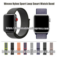 HdanMobile Light Flexible Breathable Silicone Sport Band For Apple Watch Series 1 2 42MM 38MM For