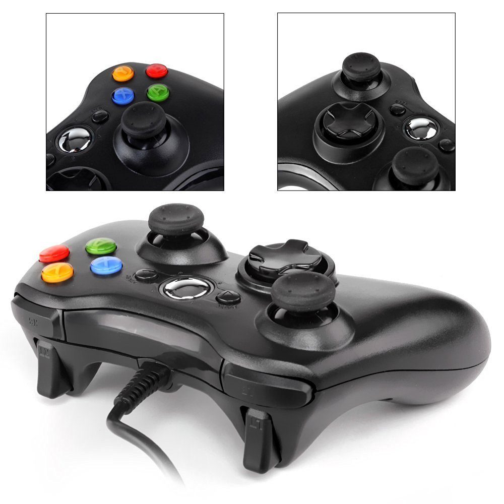 USB Wired Game Controller For xbox360 Gamepad Joypad Joystick For Xbox 360 Controller Slim Accessory PC