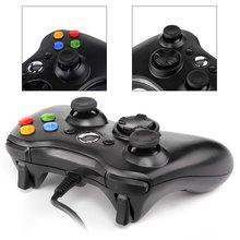USB Проводной Регулятор Игры Для xbox360 Геймпад Joypad Джойстик Для Контроллер Xbox 360 Slim Аксессуары PC Компьютер