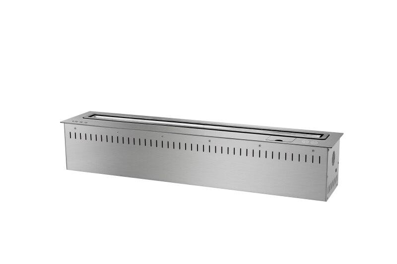 36 дюймов смарт-пульт дистанционного управления серебро этанола японский стиль, камин