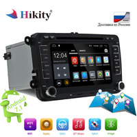 Hikity Android Car Radio 2 din Autoradio DVD GPS Multimedia player MP4 MP5 For Golf/Passat/T5/EOS/POLO/Touran/SEAT/Sharan Stereo