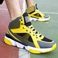 2016 Модные Мужские Сапоги Корзина Homme Chaussure Хип-Хоп Обувь для Мужчин Зима Ботильоны Тренеры calcados deportivas X082607