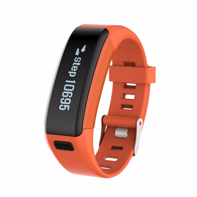 Original Smart Bracelet F1 Heart Rate Monitor Wristband Health Fitness Track Pedometer Bluetooth 4.0 Smart Band for Android iOS
