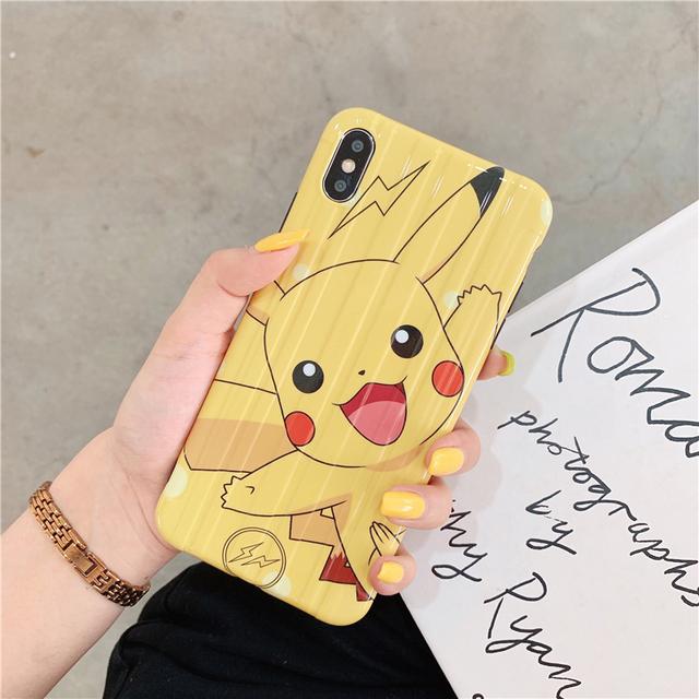 Pokemon Pikachu super Cute Cover case For iPhone