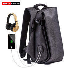 MAGIC UNION Fashion Men Backpack for Laptop 15.6