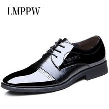 купить Luxury Designer Men's Business Casual Leather Shoes Black Brown Pointed Toe Lace-up Oxford Shoes for Men Leather Flat Shoes 2.5 по цене 1888.8 рублей