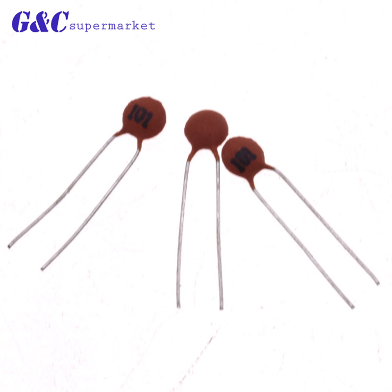 500PCSCeramic Disc Capacitors 50V 101PF capacitors Good Quality
