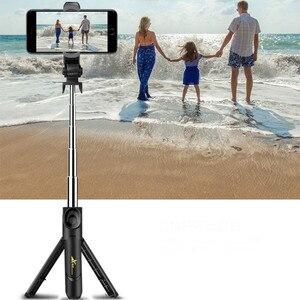 Image 5 - Không Dây Bluetooth Gậy Tự Sướng Ngang Và Dọc Chụp Sống Giá Đỡ Điện Thoại Selfie Có Remote Gậy Chụp Hình Selfie