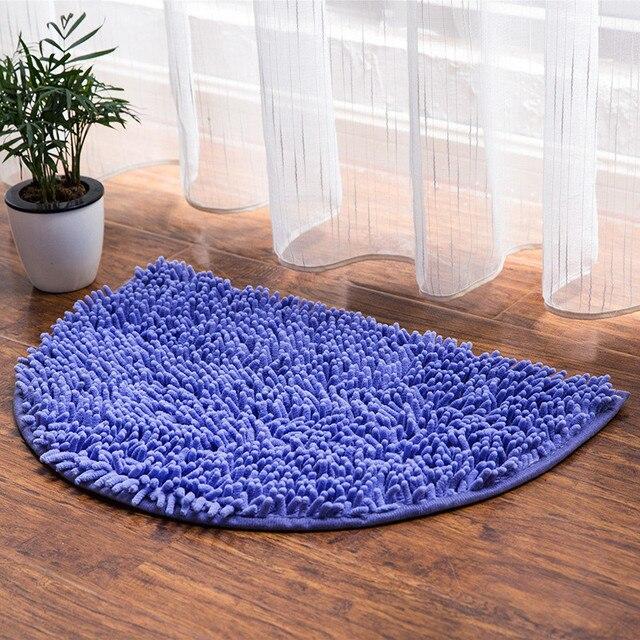A metà Intorno Bagno Carpet Multi Colori Da Bagno In Microfibra Pavimento Tappetini Zerbino Per Wc Cucina Porta Tappetini Per La Decorazione Bagno Tappetini cucina Zerbino