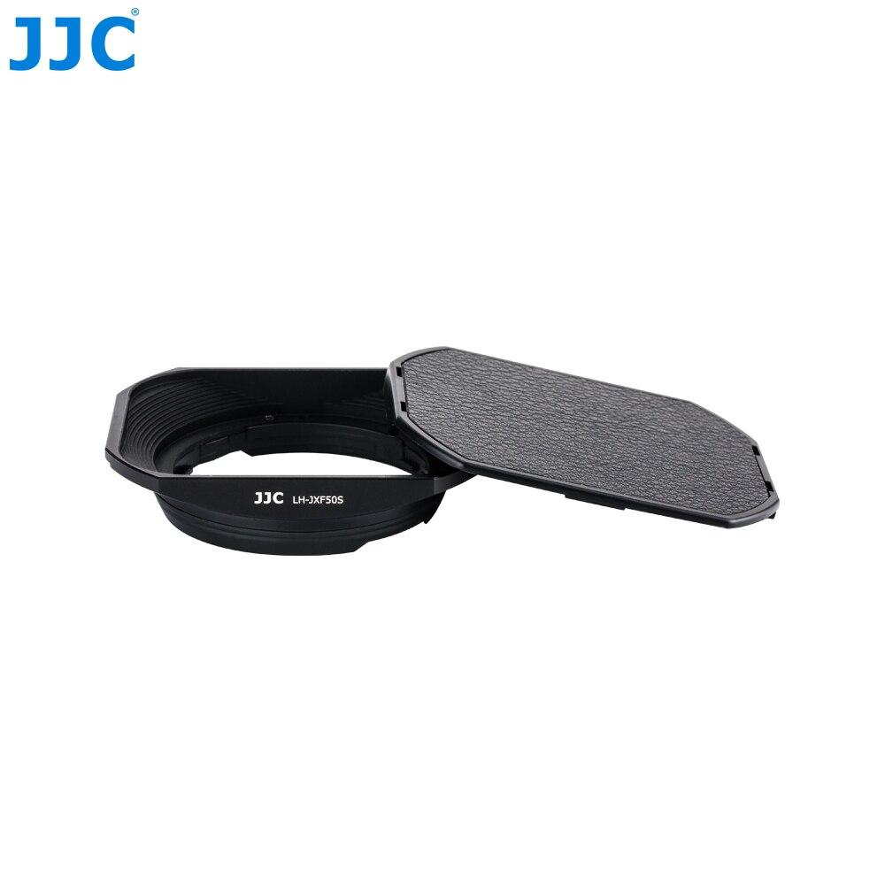 JJC Square Metal 46mm Protector Adapter Ring Kit Bayonet Camera Lens Hood For FUJINON LENS XF50mmF2