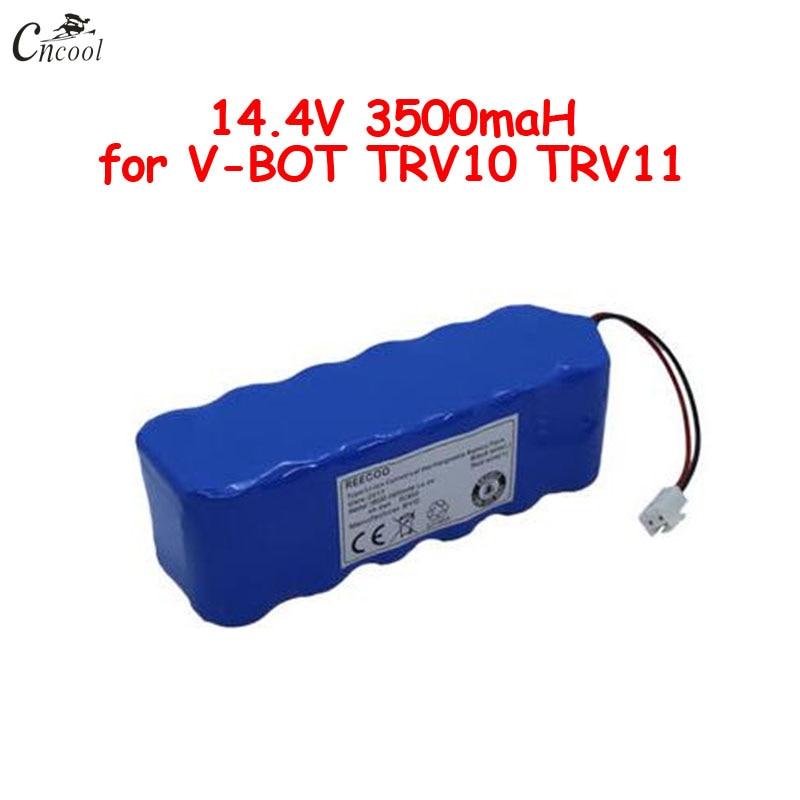14.4 В 3500 мАч NI MH аккумулятор 14.4 В SC 12S1P аккумулятор для V-BOT sweeper очиститель TRV10 TRV11