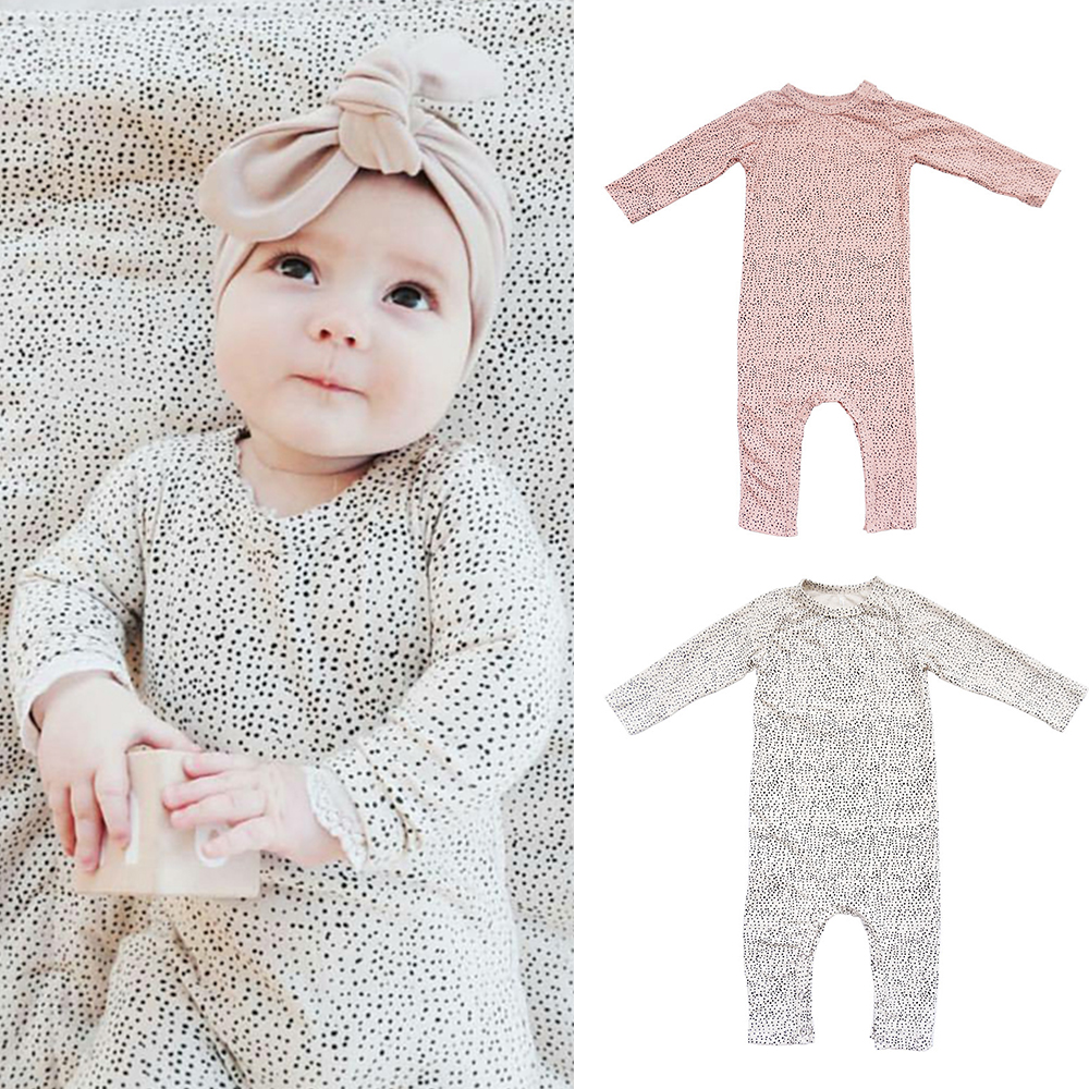 New Fashion Newborn Toddler Infant Baby Boys Rompers Long Sleeve ...