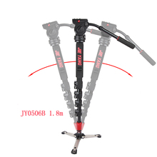 лучшая цена DHL PROGO JY0506 Aluminum Alloy Professional Monopod For Video & Camera / Tripod For Video /Tripod Head & Carry Bag wholesale