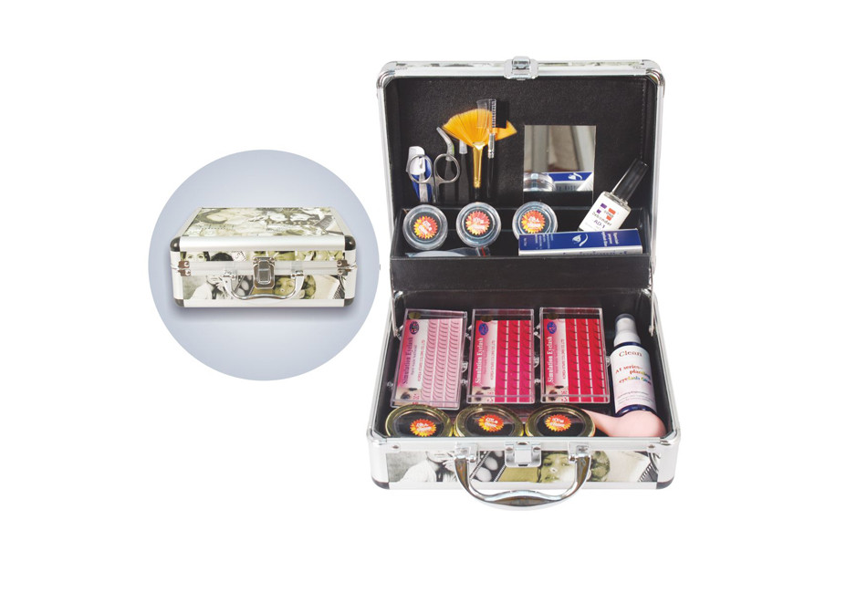 1 Set factory wholesaleprofessional eyelash extension kit eyelash extension make up case by free shipping помада make up factory make up factory ma120lwhdq61