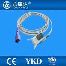 Welch Allyn 53NTP oxiamx Pediatric  Finger  Clip spo2 sensor, DB9pins, 3m