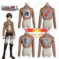 Attack on Titan Shingeki no Kyojin Recon/Trainning/Military Police Brigade/Stationed Corps Cosplay Jacket Coat Only 4 Edition