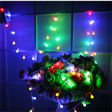 10M 100LEDS Holiday led String Light 110-220V Ball Outdoor Wedding Party Decoration EU/US PLUG