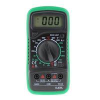 1pc XL830L Digital Multimeter Voltmeter Ammeter AC DC OHM Volt Tester LCD Test Current Meter Overload Protection Multimeter