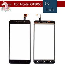 все цены на 10pcs/lot For Alcatel One Touch Pixi 4 OT-8050D OT8050 8050D 8050 Touch Screen Digitizer Sensor Outer Glass Lens Panel онлайн