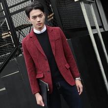 2016 new men's fashion brand high-quality goods casual business Suits / Men's wedding banquet suit jacket Men leisure suit