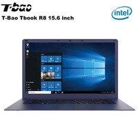 T Бао Tbook R8 15,6 ''FHD Экран 4 GB + 64 GB ноутбук с системой Windows 10 Intel Cherry Trail X5 Z8350 4 ядра Тетрадь W/HDMI Двойной Динамик