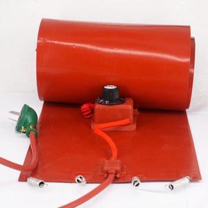 Image 1 - 200 L (55 Gallon) 250X1740X1.6 Mm 3000W Flexibele Siliconen Band Drum Heater Deken Olie Biodiesel Vat Elektrische Draden
