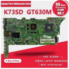 K73SD REV 2.3 suitable for asus k73sv k73sj k73sm X73S K73S A73S A73SV X73SVlaptop motherboard GT630M 2GB ,original NEW