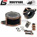 copper Retro style Air Cleaner+Intake Filter Syetem Rough Crafts  For Harley Sportster XL883 1200 2004-2016