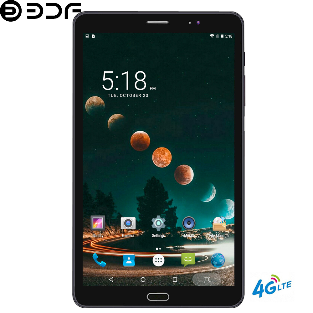 BDF Tablet 8 Inch 2.5D Screen Android 6.0 Tablet Pc 4GB/32GB 4G LTE Phone Tablet Dual SIM Card 1920*1200 IPS Pc Tablet 7 8 9 10 (China)