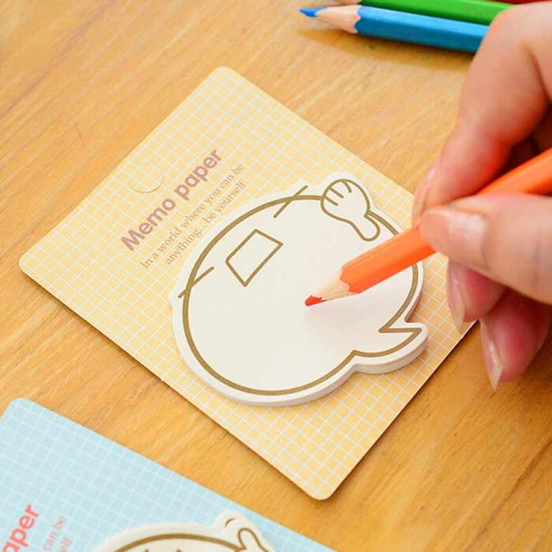 It Memo Almofada Pegajosa Marcadores Kawaii Totoro Planejador Adesivos Sticky Notes Bonito Coreano Stationery Office Supplies Scrapbooking Post