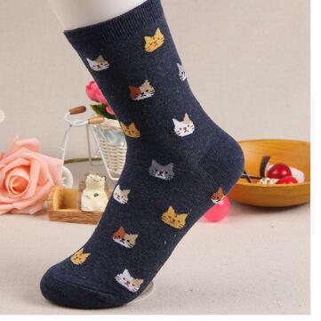 cat socks womens