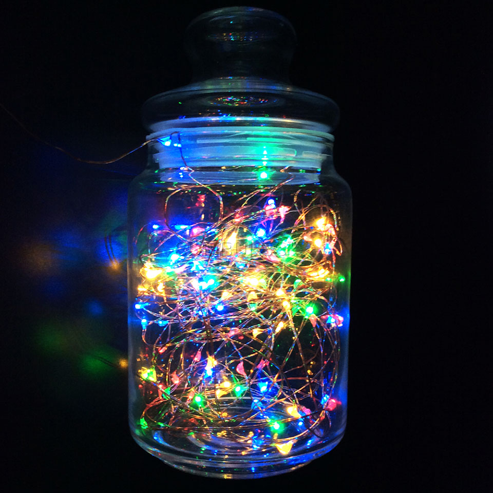 aliexpresscom buy 1m 10m led string light usb battery powered cooper wire fairy christmas lights multi color outdoor indoor decoration strip lamp from